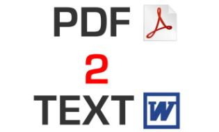 Some PDF to Txt Converter Portable 2.0 - Convert PDF to Text