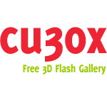 CU3OX Portable - Create Amazing 3D Flash Gallery