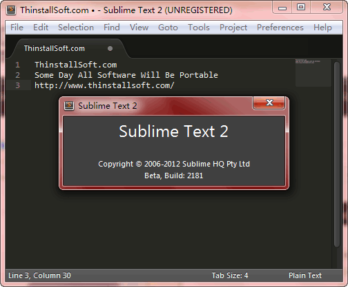 Sublime Text Portable
