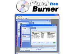 FinalBurner Portable - Free CD or DVD burner