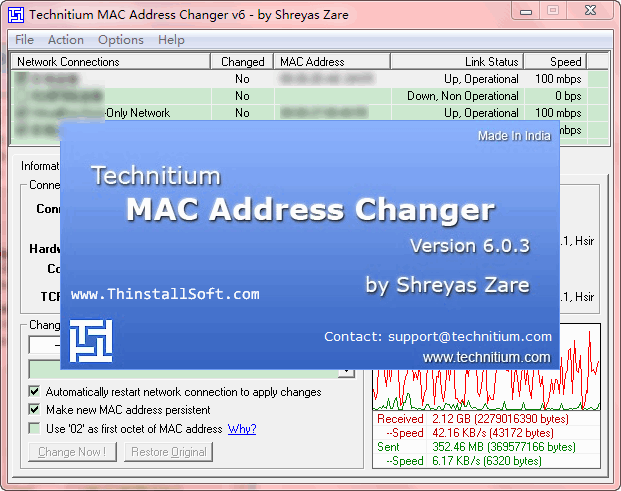 MAC Address Changer Tools