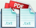 Boxoft PDF To Text Portable 1.1 - Free Convert PDF To TXT