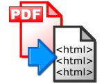Some PDF to Html Converter Portable 2.0 - Convert PDF to HTML
